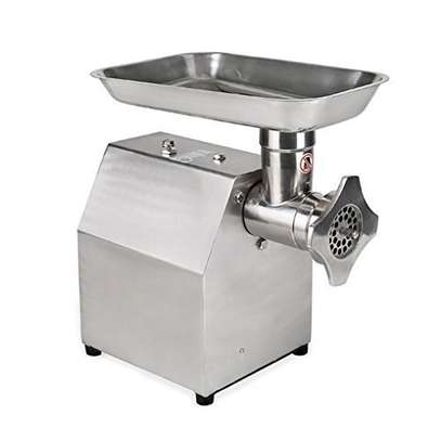 High quality small household desktop automatic meat grinder / automatic meat cutter / garlic and chili foam making machine image 1