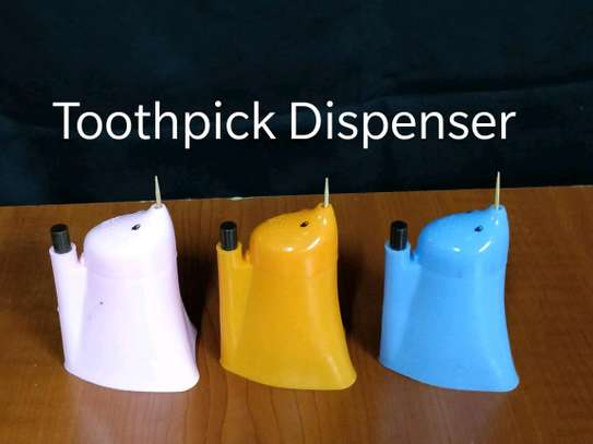 Toothpick dispenser image 1