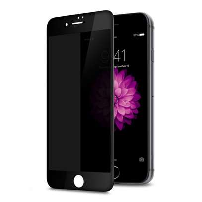 5D Full Glue Anti-spy Privacy Screen Protector For iPhone 7/7 Plus image 1