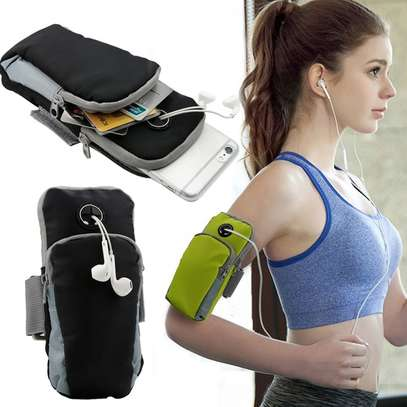 Running Sport Bag Fitness Gym Jogging Riding Cycling Phone Armband image 1