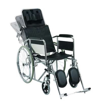 Recliner Foldable wheelchair image 2