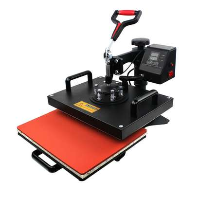 Digital Combo Heat Press Machine Sublimation T-shirt Printing image 1
