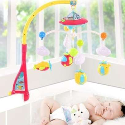 Superior 2 in 1 Dreamful Rotate baby Bed Ring & Animals Rattles Toys Set and shakers image 3