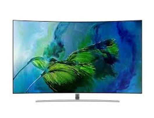 """Samsung 65"""" QLED Q8C Curved 4K Smart TV image 1"""
