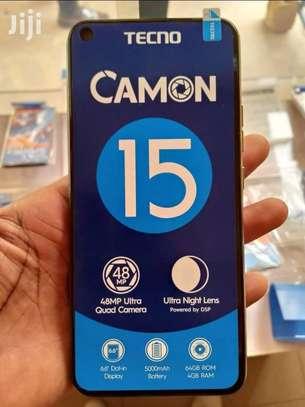 Tecno CAMON15 , 64GB+4GB,48mp Camera;5000MAH,4G ,DUAL image 2