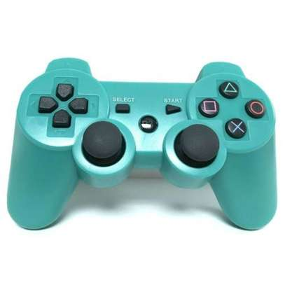 P3 PS3/PC Pad Double Shock 3 - Wireless Controller - Blue image 1