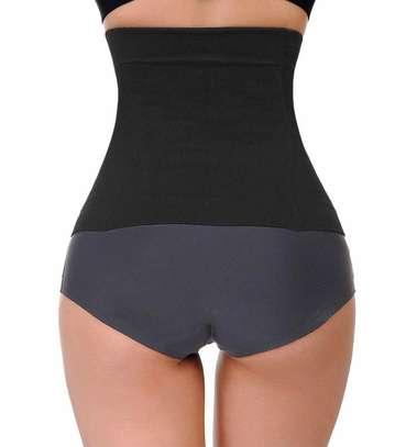 Waist Trainer Corset Belt for Weight Loss Sport Workout Body Shaper Tummy Fat Burner image 2