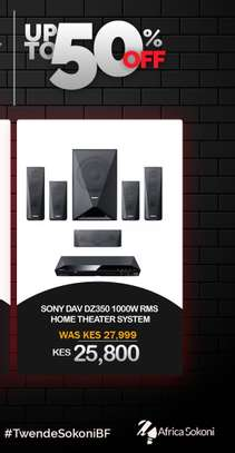 Sony 1000W RMS Home Theater System image 1