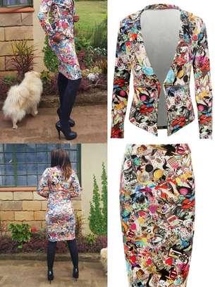 Matilda Inspired Graffiti Skirt Suit image 2