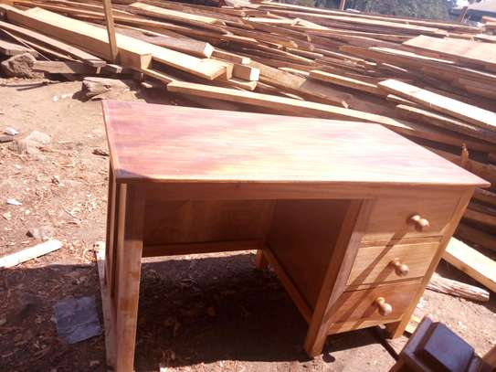 Office desk with pure hard wood