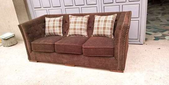Classic 3 seater Chesterfield sofas. image 4