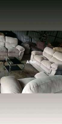 Repair, repainting and reupholstery of all imported recliners and other leather sofas image 9