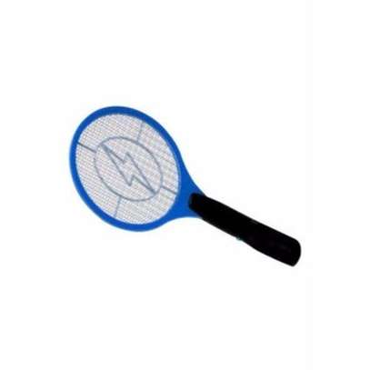 Rechargeable Electronic Mosquito Racket - Blue image 1