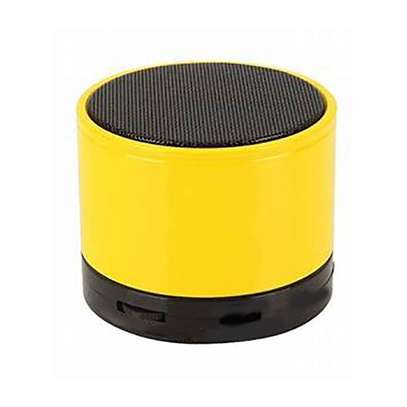 Generic Mini Bluetooth Wireless Stereo Speakers FM, Memory Card, Bluetooth, USB - Yellow.