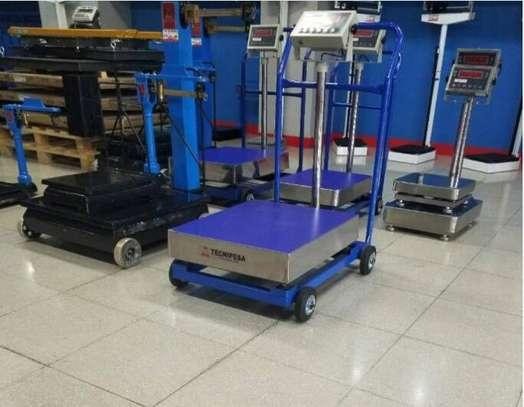 Portable Platform Scale Digital Bench Scales 500Kg. image 1