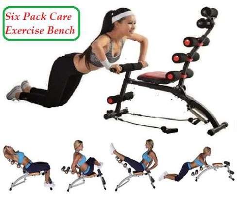 6 pack care ABS Fitness Exercise Machine  with pedals image 2