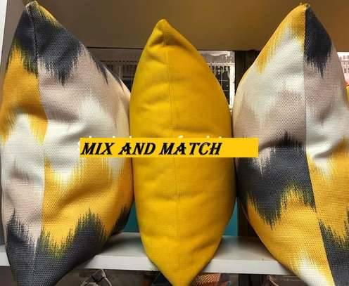 MIX AND MATCH THROW PILLOWS image 1