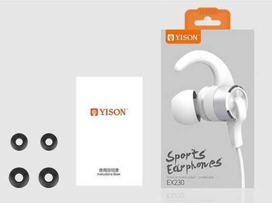 Powerful sports earphones image 1