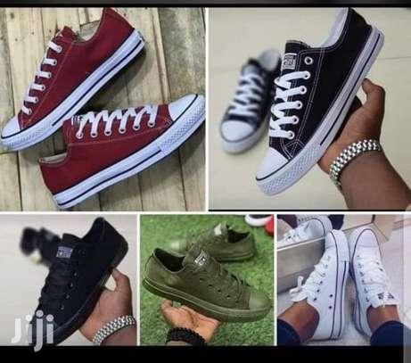 unisex converse rubber shoes, canvas rubber shoes image 2