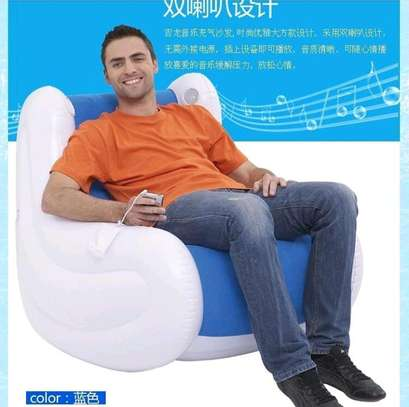 Inflatable rocking chair image 1