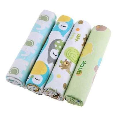 4 Pack Baby Flannels image 2
