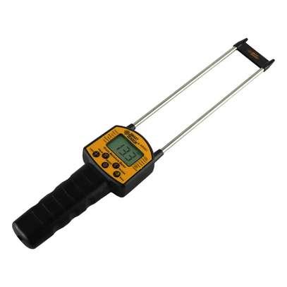 Digital Grain Moisture Meter Handheld LCD Hygrometer with Measuring Probe for Corn Wheat Rice Bean Wheat Flour fodder rapeseed image 1
