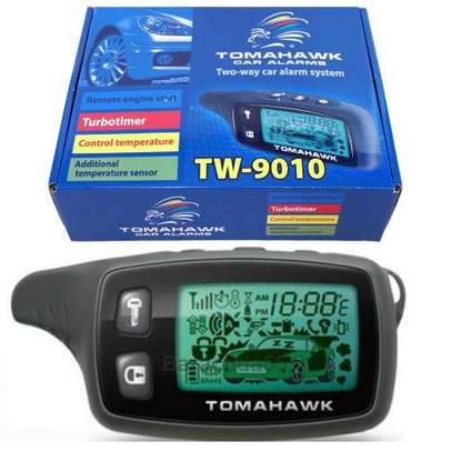 Tomahawk Tw-9010 Car Alarm Two Way Car Alarm with Engine Start/Stop