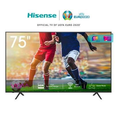 75A7100F Hisense 75 Inch 4K UHD Frameless Smart LED TV With Bluetooth(2020 Model) image 1