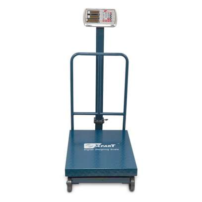 WEIGHING SCALE 300KG Folding with Wheel. image 1