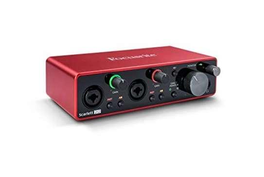 Focusrite Scarlett 2i2 (3rd Gen) USB Audio Interface with Pro Tools image 1