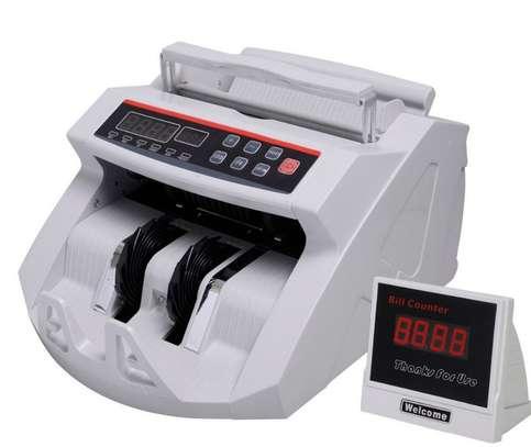 Digital Money Cash Bank Bill Counter Counting Machine image 1