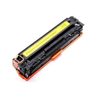 125A yellow cartridge CB542A printer number HP Color LaserJet CP1515n/CP1518ni and HP Color LaserJet CP1215 and HP LaserJet P1505 Printer series; and HP Color LaserJet CM 1312MFP and HP LaserJet M1522MFP and HP LaserJet M1120MFP. image 8