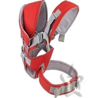 Baby Carrier With a Hood - red image 2