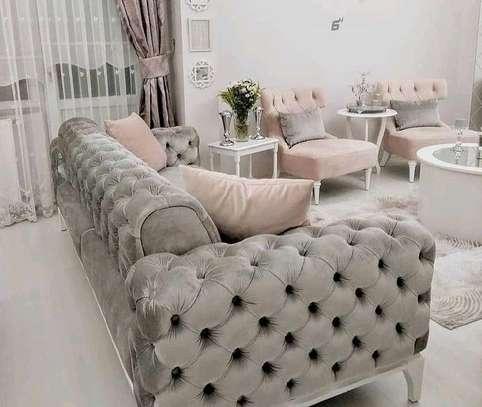 Modern chesterfield livingroom sofas image 1