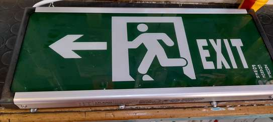 Electric Exit Sign 2pc image 1