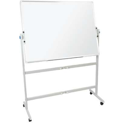 Portable one sided whiteboard 4*4ft image 1