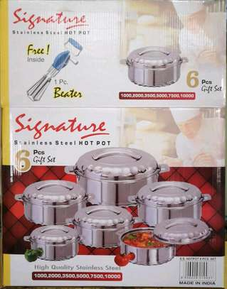 6pc signature hot pot/stainless steel hot