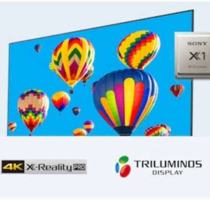 """Sony TVs 55"""" Kd-55x9000h smart Android frameless bluetooth image 2"""