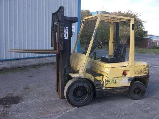 Diesel Folklift 2007 Yellow image 1