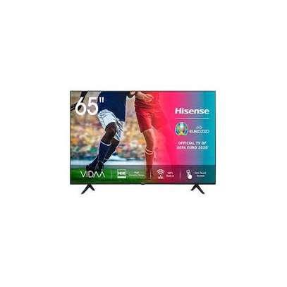 "Hisense 65"" 4K UHD ANDROID TV,ALEXA VOICE CONTROL,WI-FI,2020 MODEL-mid month deals image 1"