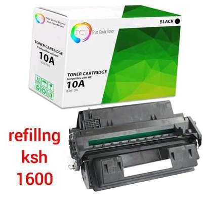 Q2610A toner cartridge black 10A refillng image 1