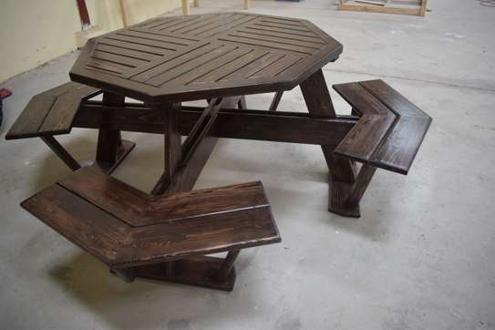 Restaurant bench table for sale! image 3
