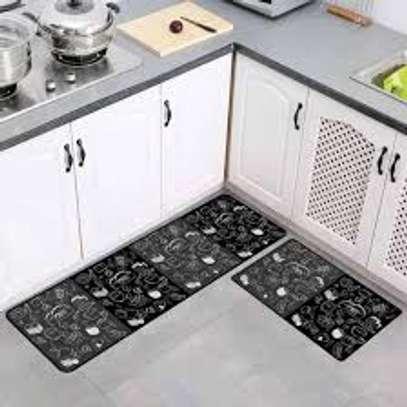 2 pc set kitchen mats image 2