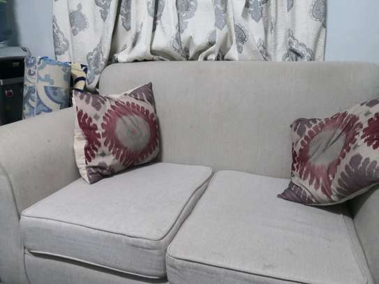 corner sofa and 2 seater chair