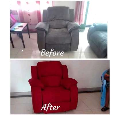 Repair/Reupholstery of Recliner sofas(Imported) image 1