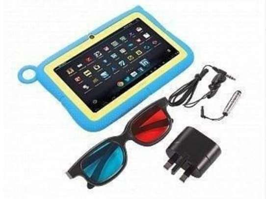 Kids tablet with silicon protector image 1