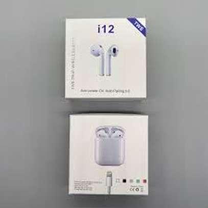 I12TWS Wireless Bluetooth Earphone Sport Earbuds image 1