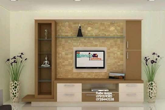 Wall units/tv cabinets/ wooden tv stands image 1