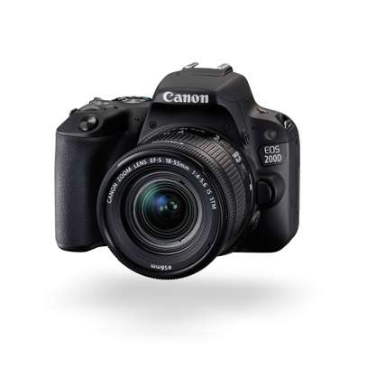 Canon EOS 200D DSLR Camera with 18-55mm image 1