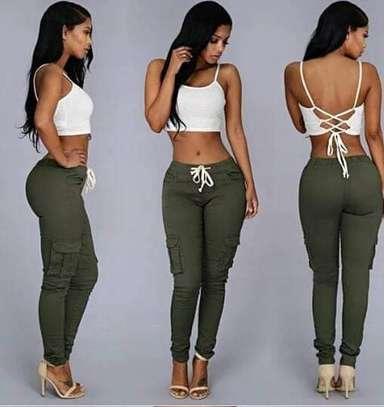 Amori Ladies Cargo Pants image 2